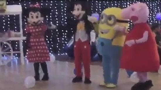 Disney görmesin