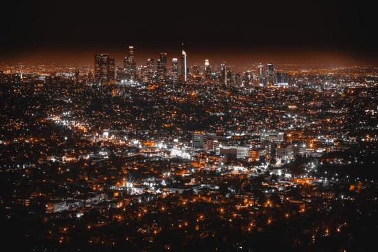 Los Angeles'ta akşam