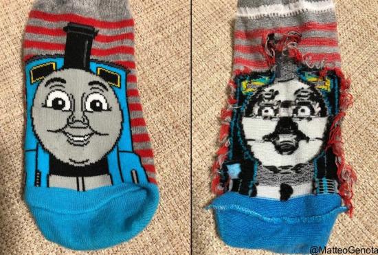 İkizler burcu çorabı