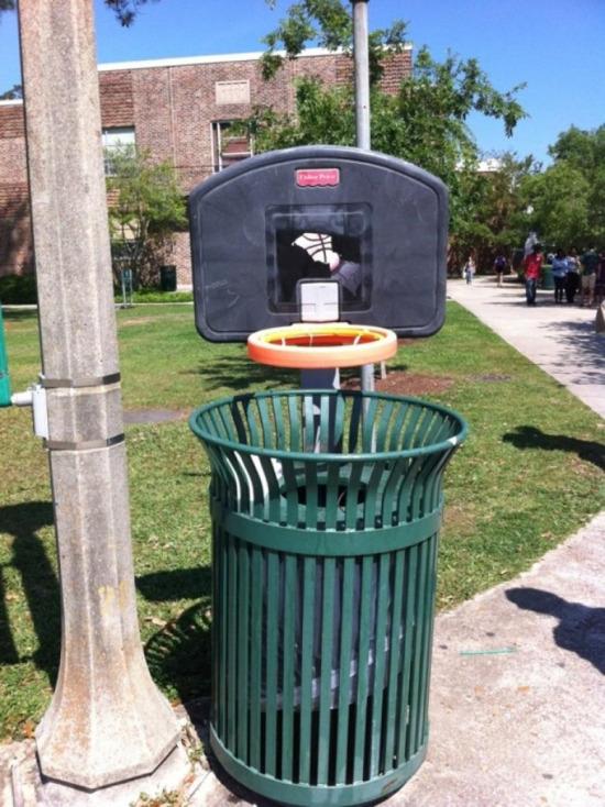 Bütün çöpler potaya