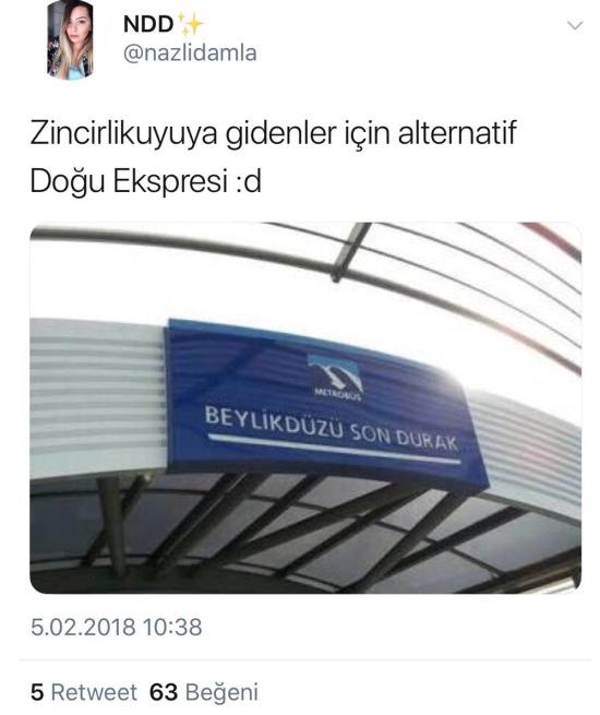 Bu da İstanbul Ekspresi