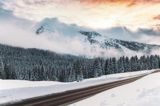Kışın en güzel hediyesi; kar