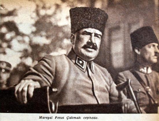 Türkiye Cumhuriyeti'nin ilk Genel Kurmay Başkanı Mareşal Fevzi Çakmak'ın ölümü