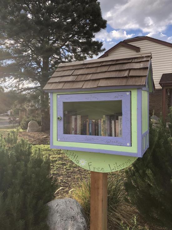 Minik bir kütüphane