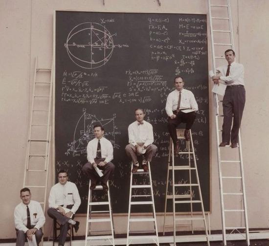 NASA bilim adamları, 1961