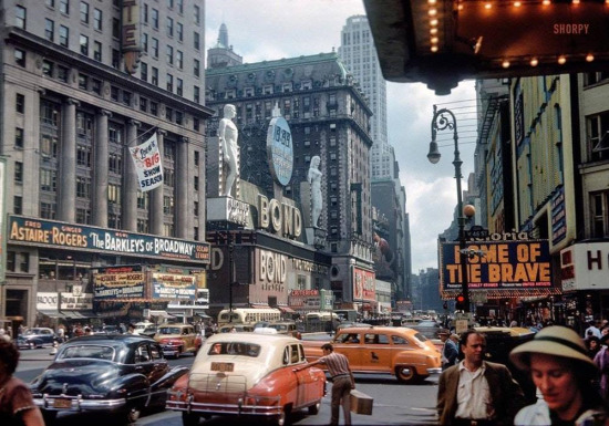 Times Meydanı, New York, 1949
