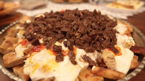 Konya'ya özgü tirit yemeği