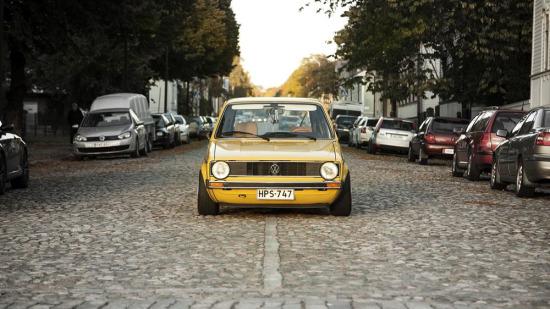 84 model Volkswagen Golf