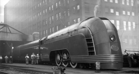 ''Mercury'' treni Chicago - 1936