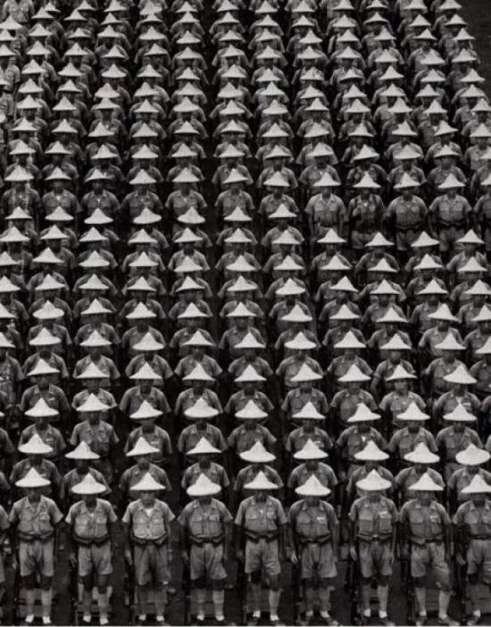 Tayvan'da askeri bir tören, 1951 yılı