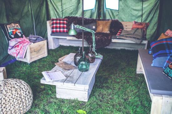 Kamp çadırından daha fazlası