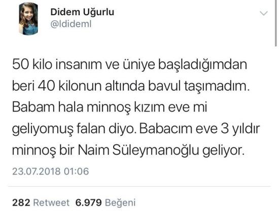 Üniversitede hepimiz birer Naim Süleymanoğlu'yuz
