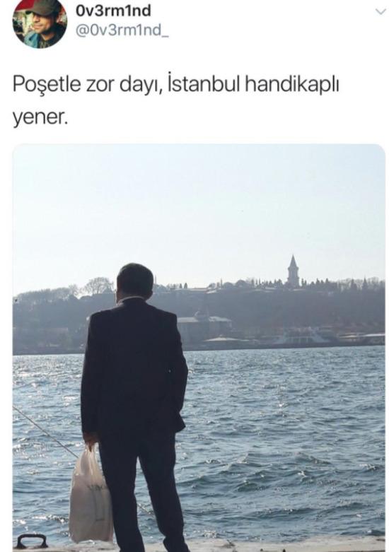 İstanbul sen mi büyüksün ben mi