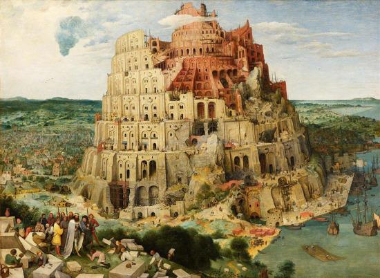 Dünya tarihiyle bütünleşmiş bir eser Pieter Brueghel'in Babil Kulesi, 1563