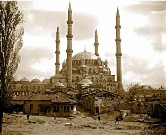 Selimiye Camii. Edirne,1910