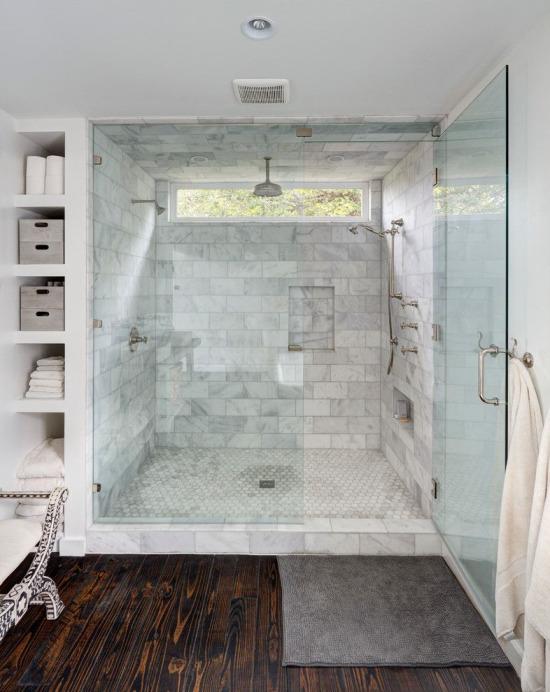 Minimalist banyo tasarımı