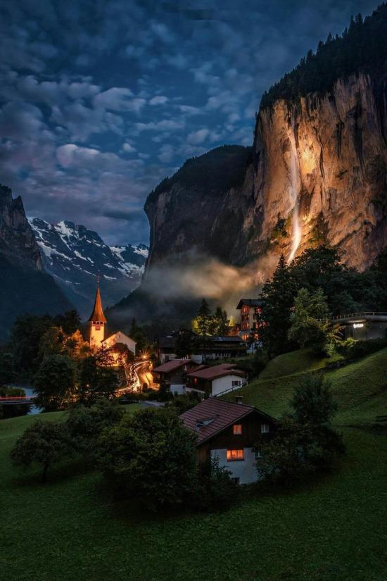 Lauterbrunnen, İsviçre