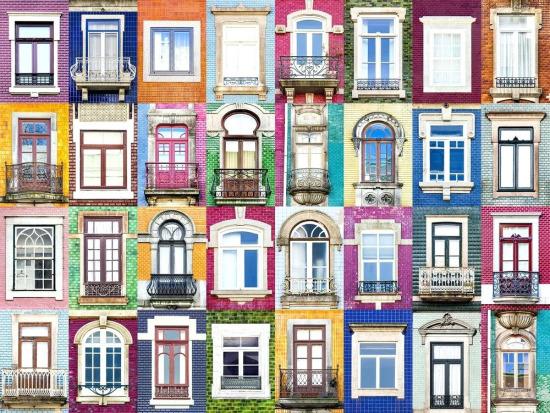 Andre Vicente Gonçalves'in Windows of the World adlı fotoğraf serisinden