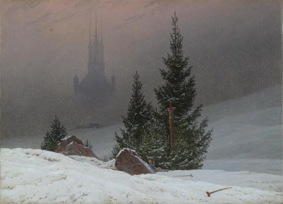 Caspar David Friedrich, Kış Manzarası
