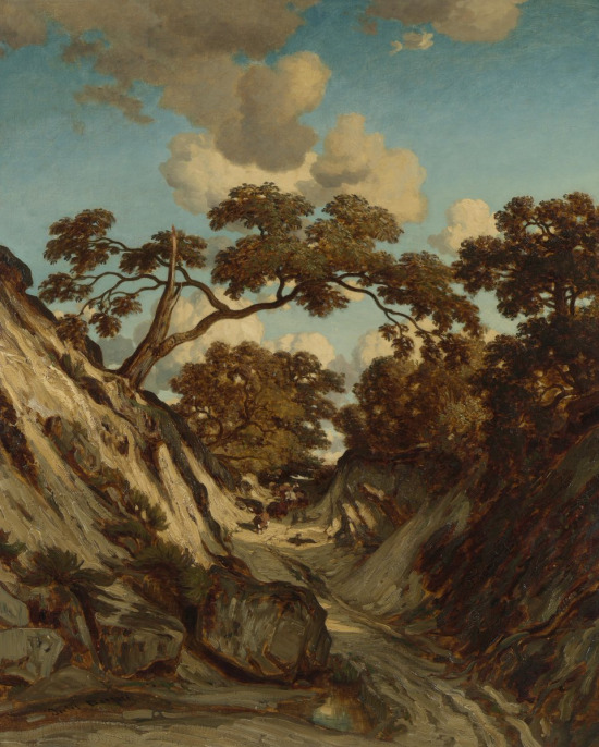 Jules Dupré, Batık Yol, 1835- 1840