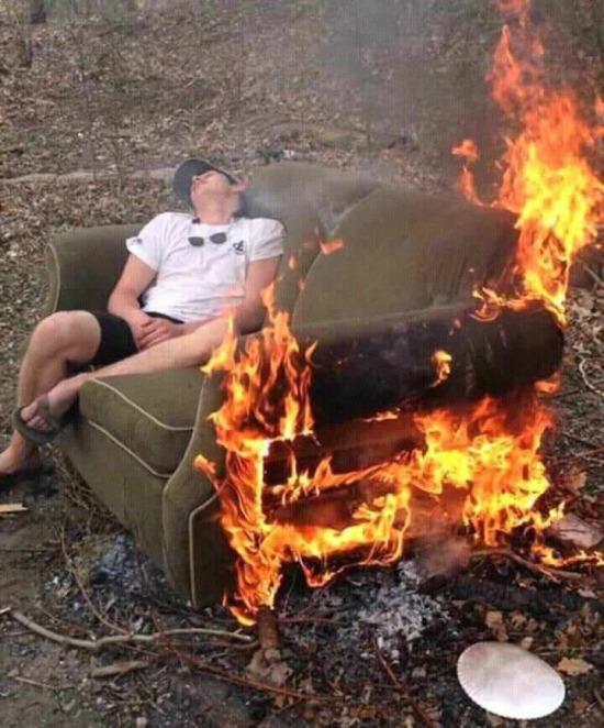 Yaz tatili boyunca böyleydim