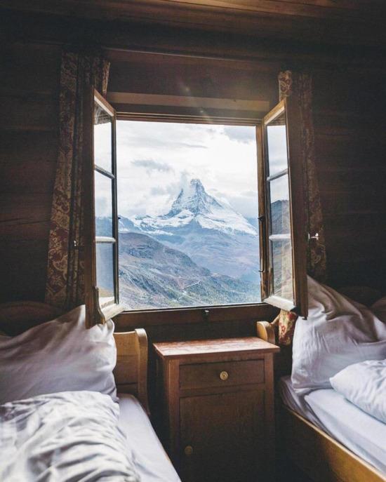Kim böyle bir odada uyanmak istemez ki