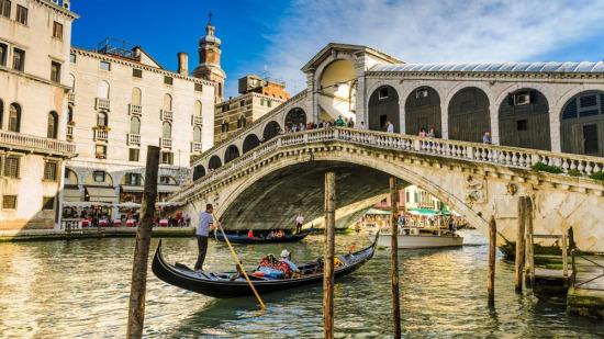 Her zamanki güzelliğiyle Venedik