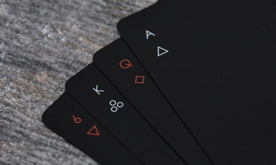 Minimal oyun kartları