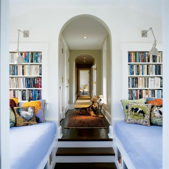 Kitap okuma odası dekorasyonu