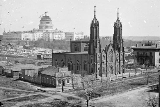 1863 yılında ABD'de Beyaz Saray yapılırken...