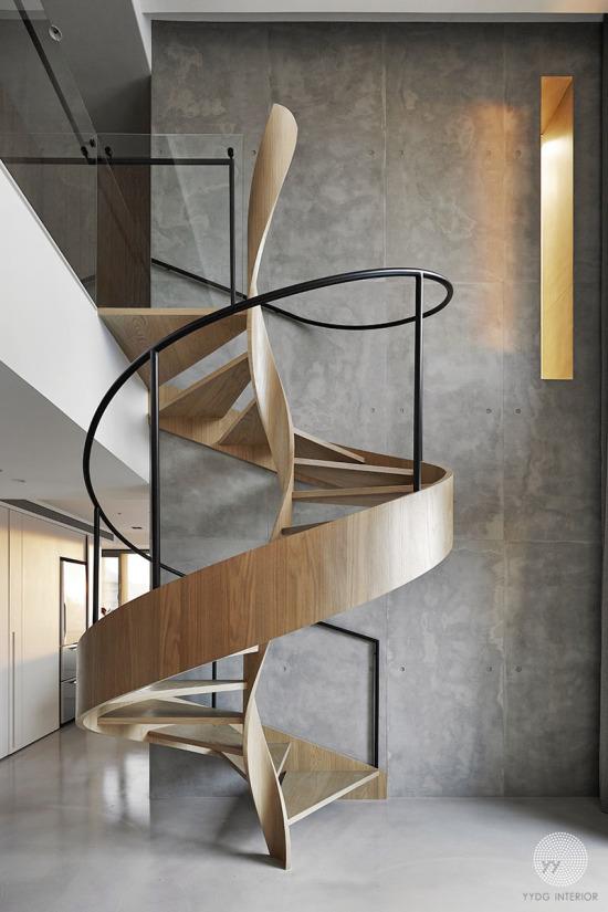Gördüğüm en ilginç merdiven tasarımı