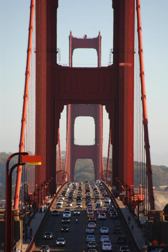Golden Gate Köprüsü, ABD