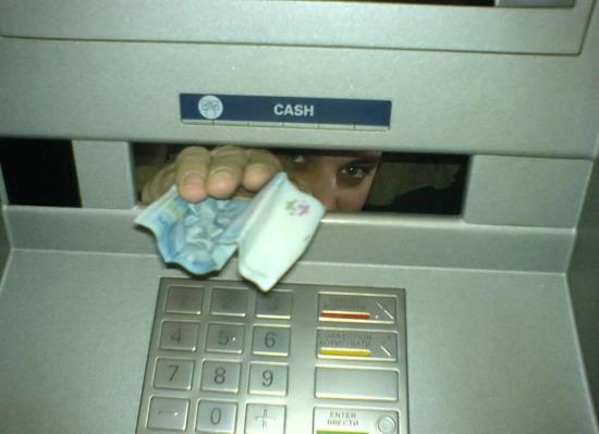Genç adamsın lazım olur diyen ATM
