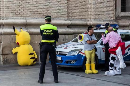 Pikachu kaçak elektrik kullandığı için tutuklanmış