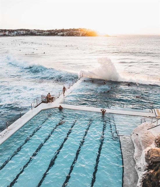 Bondi Plajı, Sidney, Avustralya