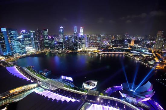 Singapur geceleri