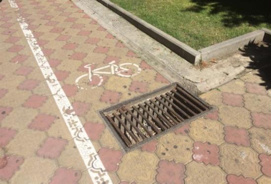 Belli ki bisikletçi belediyeye sızmış