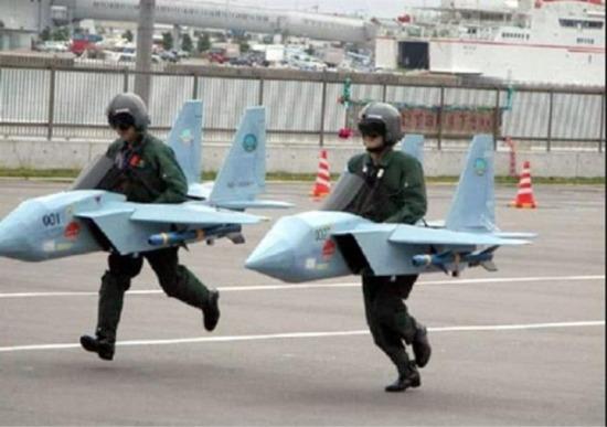 Yürüyen uçaklarımız piyasaya sürülmüştür hayırlı olsun