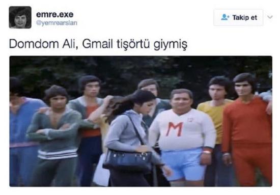 Gmail'in reklam yüzü
