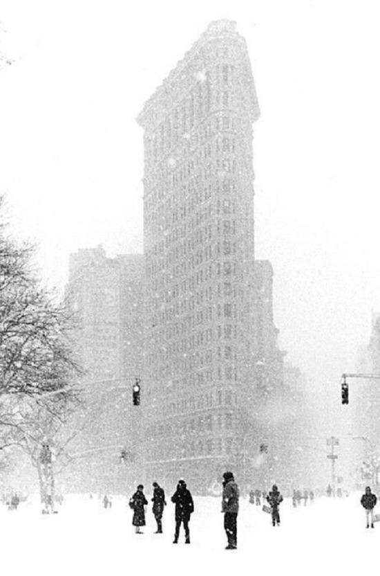 New York'ta kış...