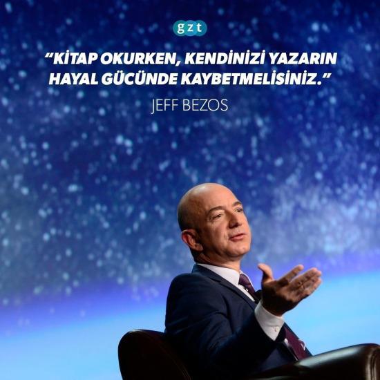 Jeff Bezos'tan altın tavsiye