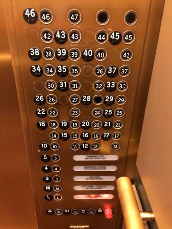 Asansöre mi bindik tombala mı oynuyoruz kafam karıştı