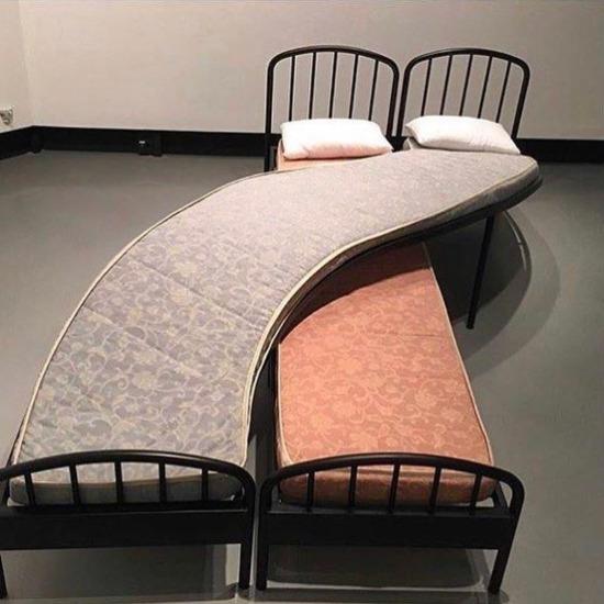"""""""Ben çok deli yatarım"""" diyenlere özel yatak"""