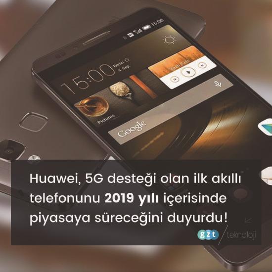 Huawei'den haber var!