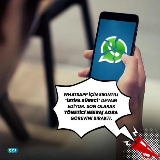 WhatsApp çatlağı büyüyor