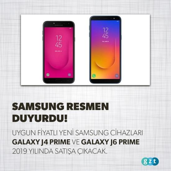 Samsung resmen duyurdu