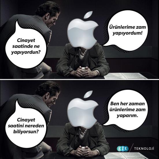Apple bunu hep yapıyor!