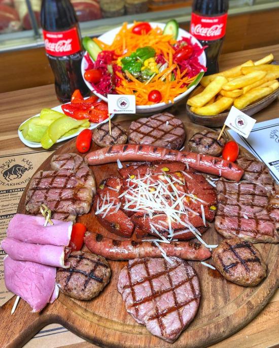 Karışık et ızgara tabağı