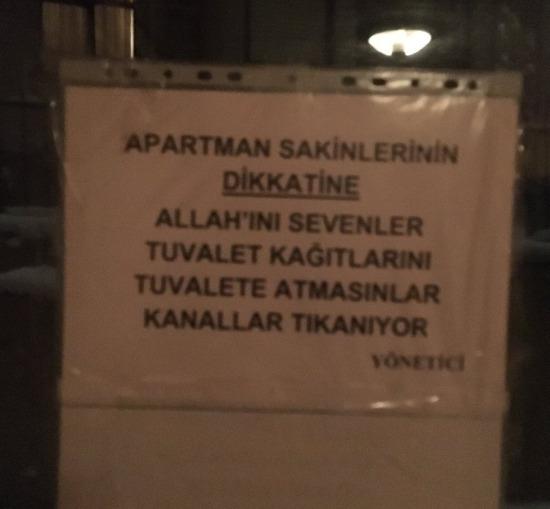 Apartmanların genel sorunu