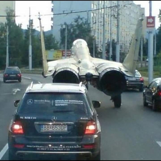 Büyük icat, yürüyen uçak